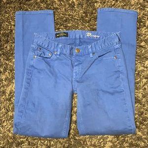 J Crew. Matchstick denim jeans. 28 Regular. EUC